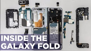 Galaxy Fold Teardown - How Does The Folding Screen Work?