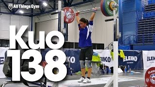 Kuo Hsing-Chun (58kg) 130,135,138kg Clean & Jerk 2015 World Weightlifting Championships