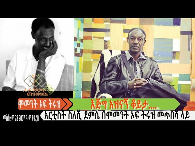 EthiopikaLink Moment of Truth Interview With Artist Seleshi Demese