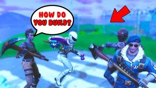 Acting like a default skin... (Funny Random Duos)