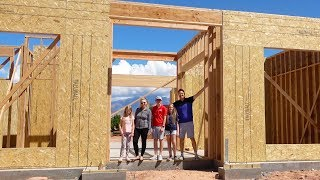 Our New House Has Walls!