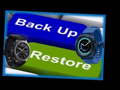 Samsung Gear S3/Gear Sport Active & Hard Reset/Backup/Restore  - Jibber Jab Reviews!