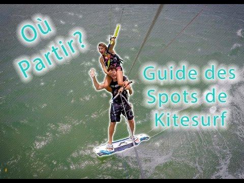 ☆ Ou partir faire du Kitesurf? Le guide des spots ! ☆