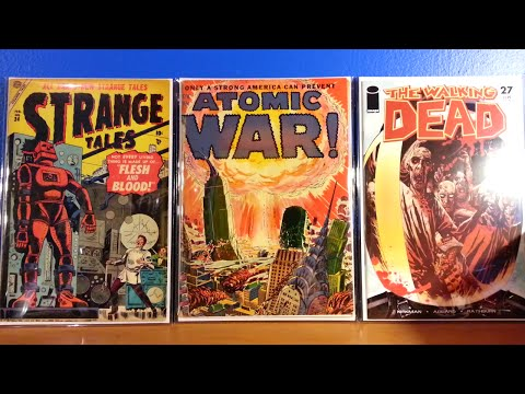COMIC BOOK FINDS, SCARCE COMIC BOOKS, PLUS AN UPDATE.