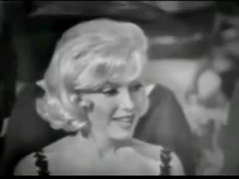 A Very Interesting Rare interview with Marilyn Monroe in 1959 Nikita Khrushchev Visit