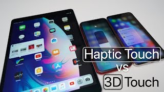 Haptic Touch vs 3D Touch - What's Different?