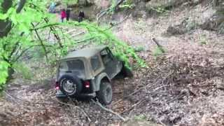 Jeep Wrangler 4.0 offroad action
