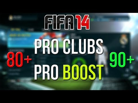 FIFA 14/FIFA 15 - Pro Clubs - 93-96 rating Pro boost!