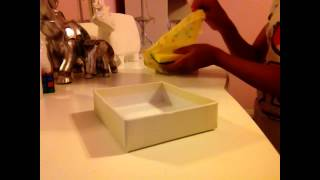 How to Make a Really Easy Doll Restaurant Booth/Chair