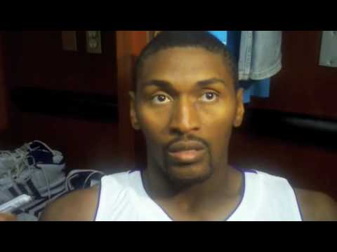 Ron Artest, on guarding Joe Johnson Video