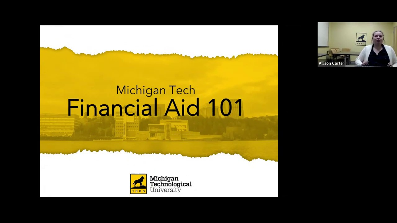 Preview image for Financial Aid 101 video