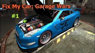 Начало зборки Nisan GT-R-[Fix My Car:Garage Wars#1]