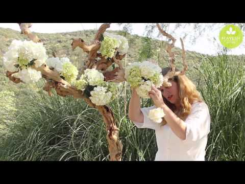 Inspired Floral Design with Beth O'Reilly: Driftwood Tree Tablescape