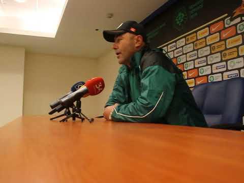 Тренер Прикарпатья после проигрыша СК Днепр-1 жаловался на судейство