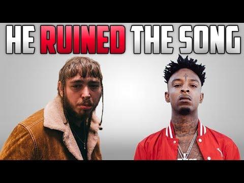 download lagu Did 21 Savage Ruin Rockstar By Post Malone? gratis