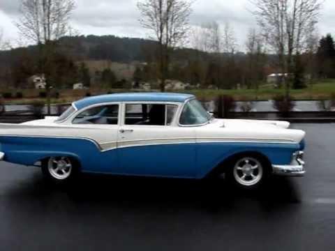1957 ford custom 300 2 door gone youtube for 1957 ford 2 door