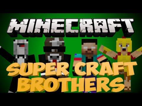 Minecraft SUPER CRAFT BROS BRAWL Server