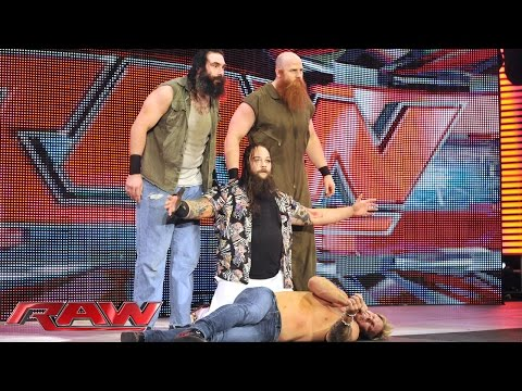 Bray Wyatt interrupts Chris Jericho: Raw, July 14, 2014