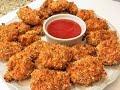 КУРИНЫЕ НАГГЕТСЫ В ДУХОВКЕ,  нереально вкусные,хрустящие  Chicken Nuggets in the oven.