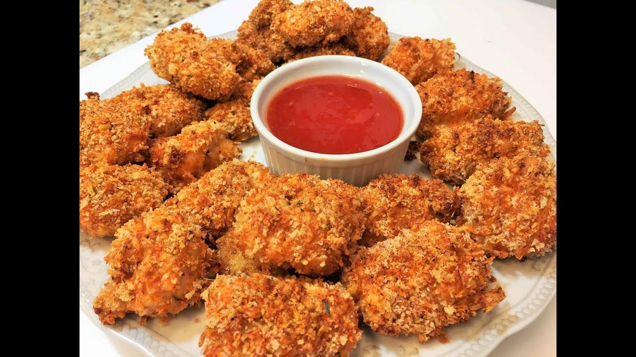 Домашние куриные наггетсы рецепт американская кухня 9