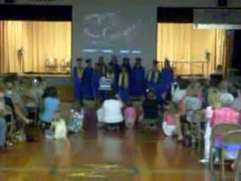 Prairie Du Rocher IL 8th grade graduation