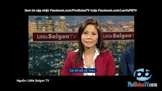 Ca sĩ Hồ Lệ Thu trình bày về hội Hoa Thiện Tâm trên LSTV