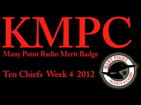 Radio Merit Badge Ten Chiefs 2012 week 4 group A
