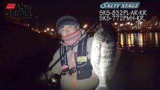 林 健太郎 SALTYSTAGE KR-X 黒鯛 2014年モデル実釣インプレッション
