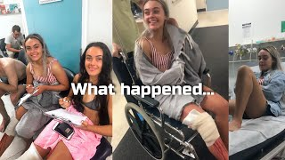 TWINS RUSHED TO EMERGENCY ROOM | Working out when injured? | Physique Update
