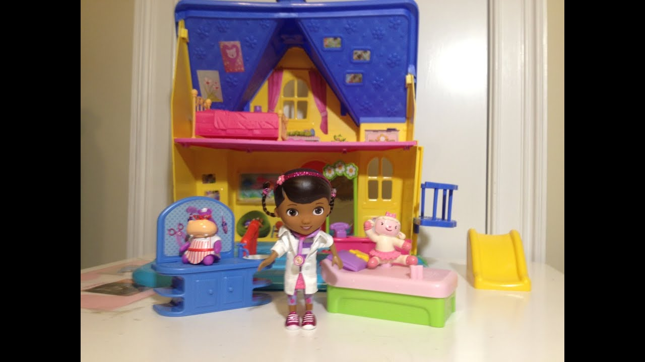 Disney Junior Doc Mcstuffins The Doc Is In Clinic With