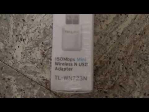 Unpacking TP-LINK TL-WN723N 150Mbps Mini Wireless N USB Adapter