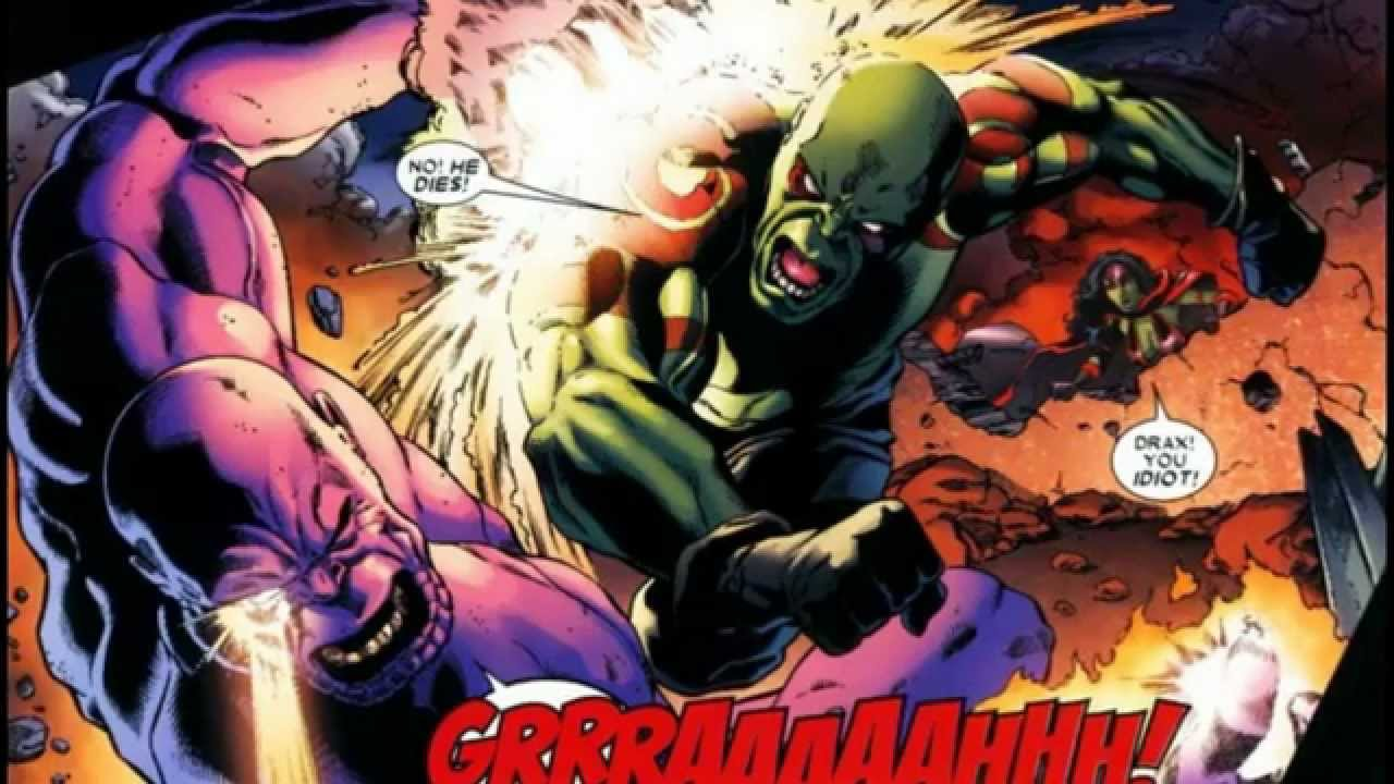 Drax The Destroyer Vs Venom: SECTION XV FANTASY FIGHT-(Drax The Destroyer Vs Superboy