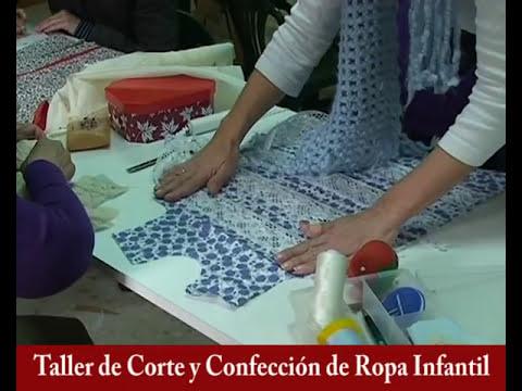 Taller de Corte y Confección de Ropa Infantil, Monitora María del Carmen Martínez Herrera