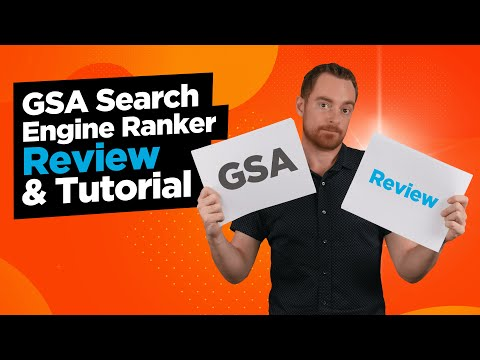 GSA Search Engine Ranker Review & Tutorial - A Unique Link Building Tool