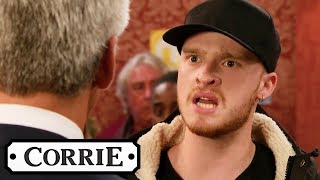 Tyler Accuses Robert of Murdering Vicky | Coronation Street