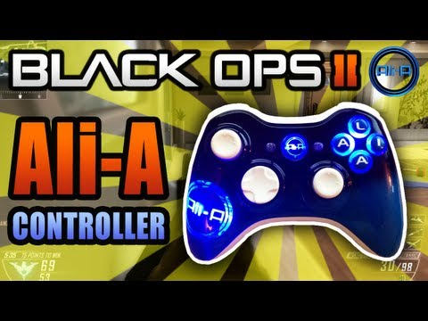 Ali-A Controller Gameplay! - Black Ops 2 LIVE w/ Ali-A! - (Call of Duty: BO2 & Imagine Customs)