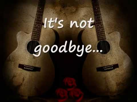 Laura Pausini - It's Not Goodbye lyrics klip izle