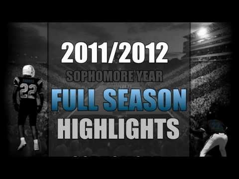 (New) #22 RB/DB Dendre Farris 2011-2012 Full Season Football Highlights.