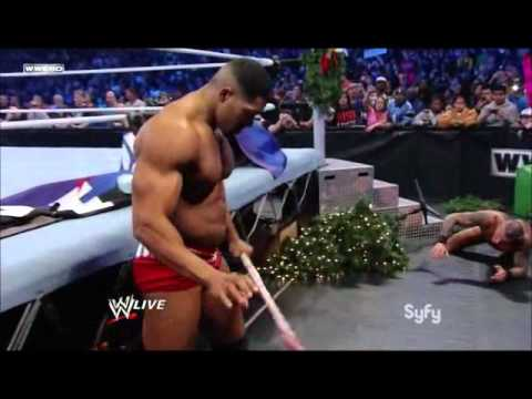 Randy Orton Vs David Otunga Street Fight Match Smackdown Special Holiday video