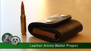 Leather Ammo Wallet Project