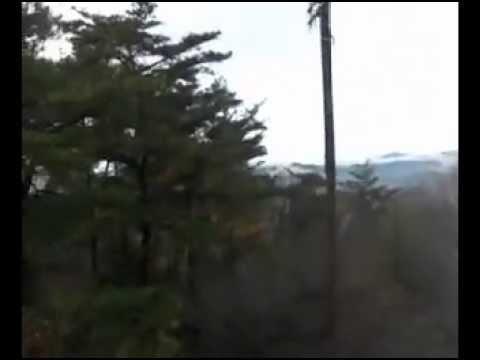 五月山(大阪府池田市)日の丸展望台