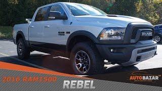 2016 Dodge Ram 1500 Rebel видео. Тест драйв Додж Рам 1500 Ребел 2016 на Русском. Пикапы из США.