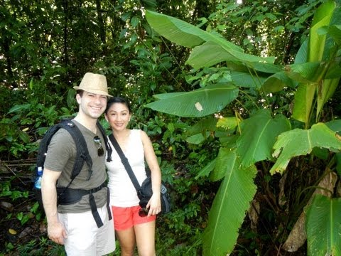 Costa Rica Vacation Day 2! Manuel Antonio Rainforest Tour with Monkeys, Sloths, and more!