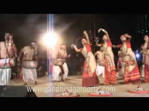 Sanskruti Kunj 2012 Day 9 Assam Bihu Dance video