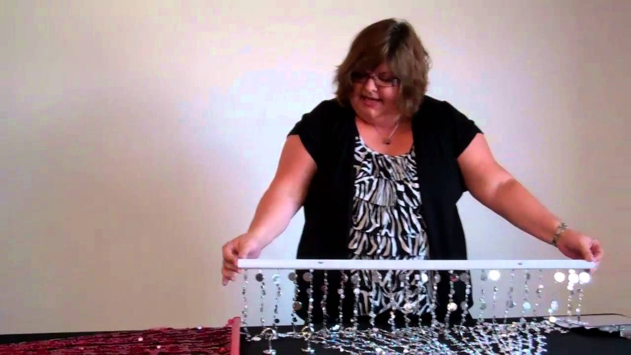 How To Hang A Beaded Curtain Shopwildthings Video Time