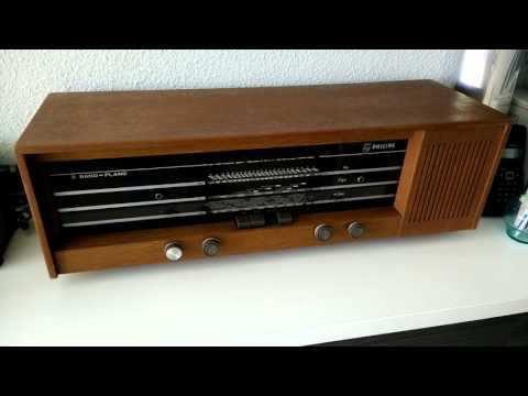 Philips antigua radio restaurada