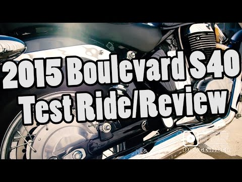 2015 Suzuki Boulevard S40 - Test Ride/Review