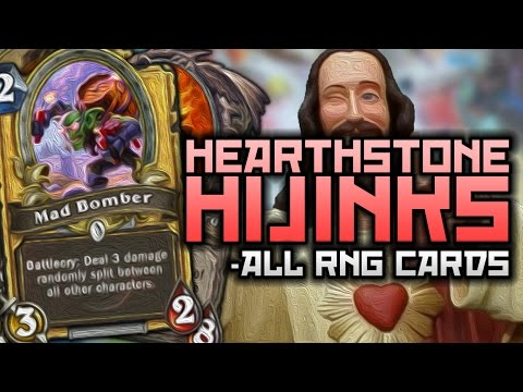 Hearthstone Hijinks: ALL RNG CARDS!