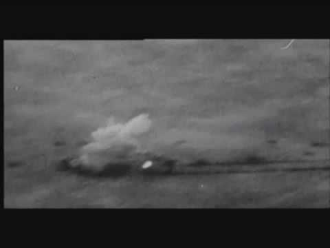 german WW2 STUKA ju87g shooting T34, T35, A9/10 cruiser tanks with anti-tank gun combat camera video
