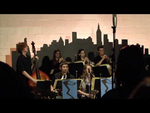 East Troy High School's Jazz Lab - Bottom Line Blues (Trevor Kent) 5/28/14